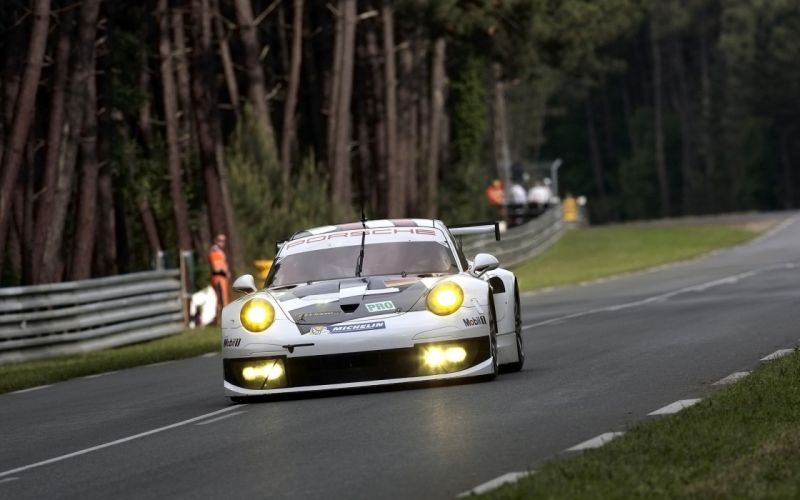 2013 Porsche 911 RSR Le-Mans race racing f wallpaper