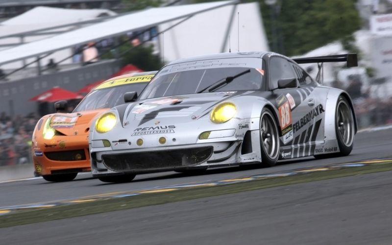 2013 Porsche 911 RSR Le-Mans race racing d wallpaper