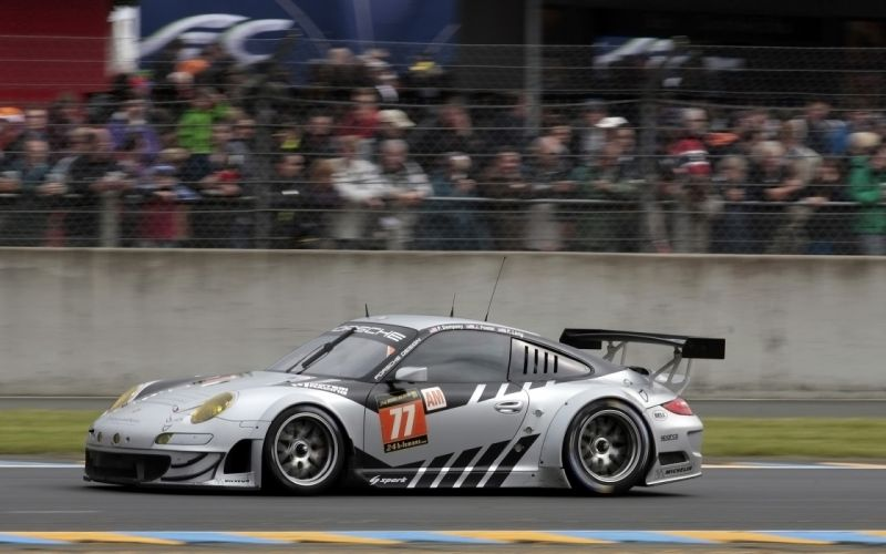 2013 Porsche 911 RSR Le-Mans race racing v wallpaper