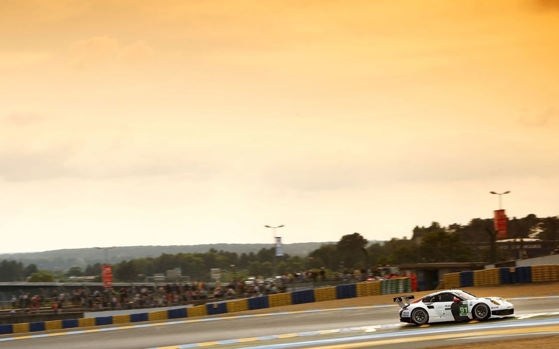 2013 Porsche 911 RSR Le-Mans race racing g wallpaper