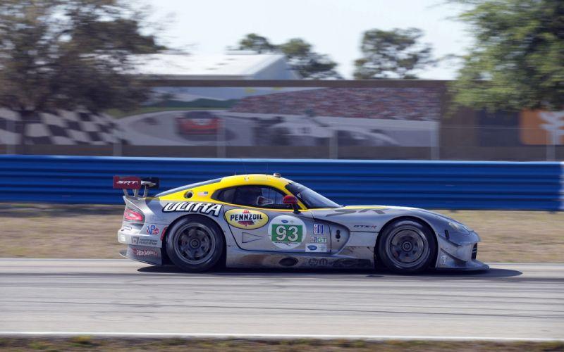 2013 SRT Dodge Viper GTS-R Le-Mans race racing supercar supercars g wallpaper