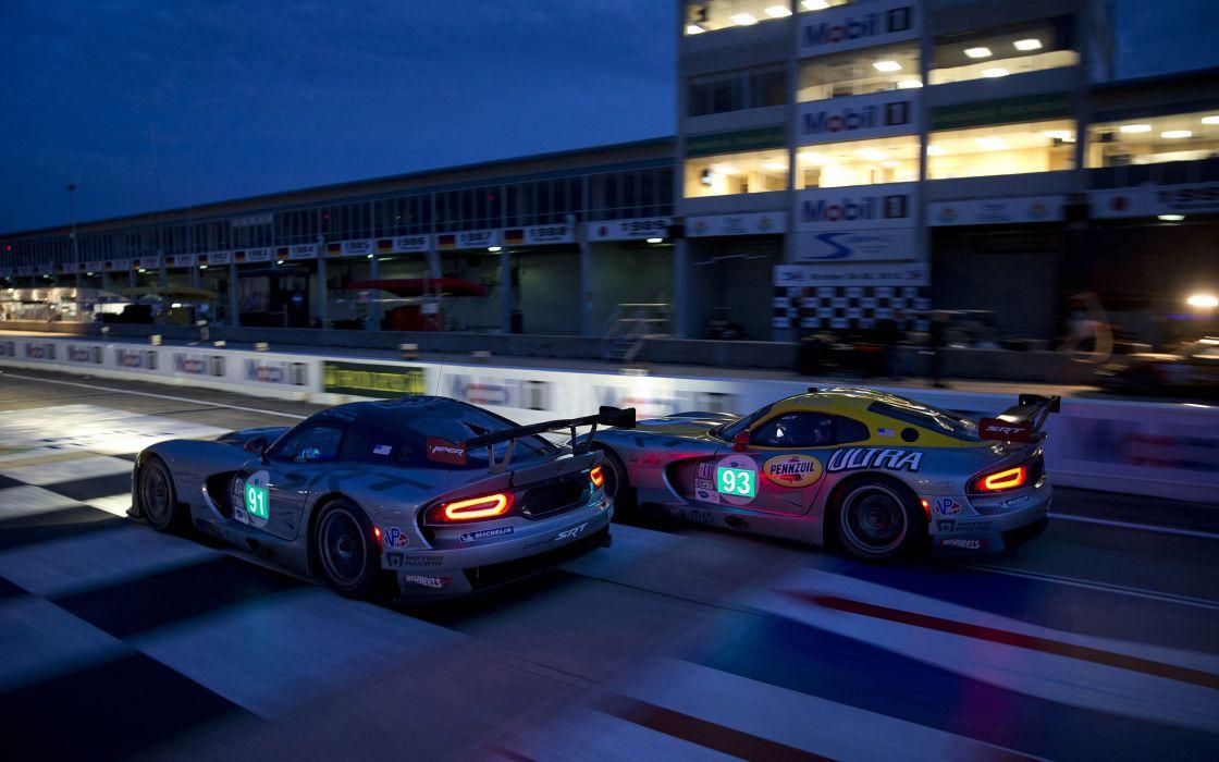 2013 SRT Dodge Viper GTS-R Le-Mans race racing supercar supercars    f wallpaper