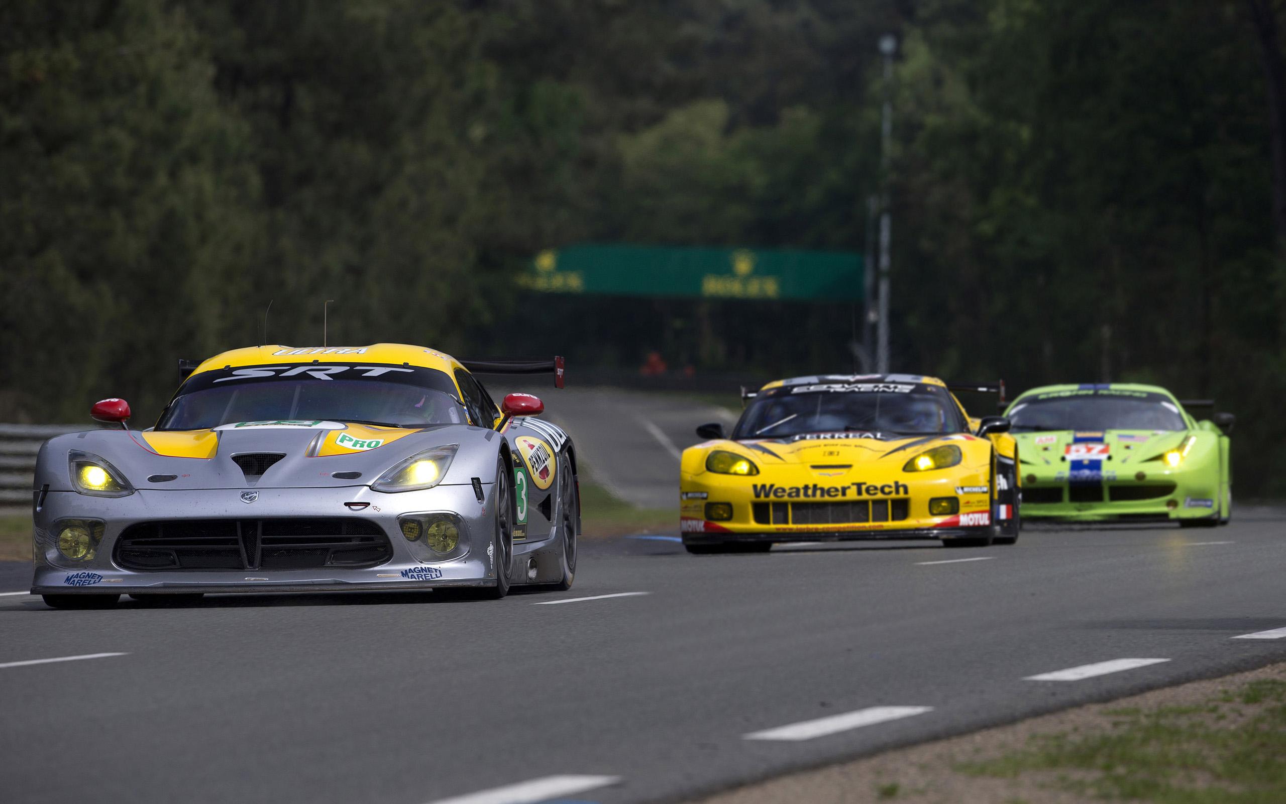 2013 SRT Dodge Viper GTS-R Le-Mans race racing supercar supercars gd ...