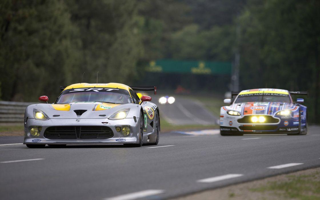 2013 SRT Dodge Viper GTS-R Le-Mans race racing supercar supercars  fs wallpaper