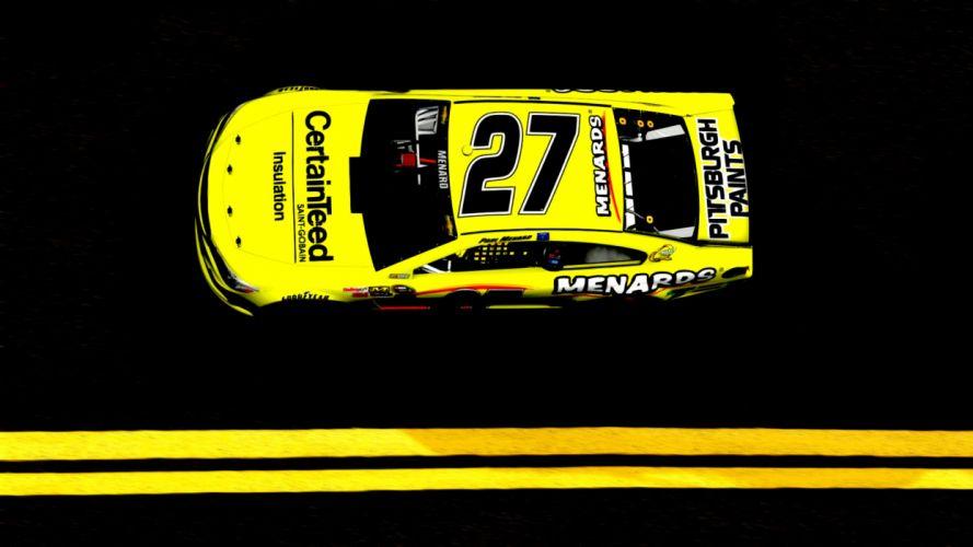 NASCAR race racing game wallpaper