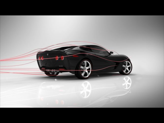 2009 USD Mallett Corvette Z03 muscle supercar supercars h wallpaper