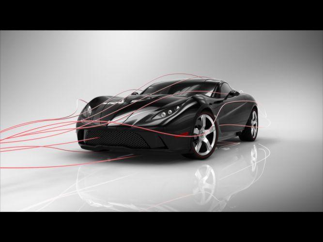 2009 USD Mallett Corvette Z03 muscle supercar supercars wallpaper