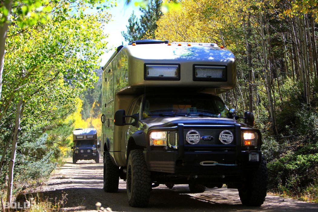 2013 Ford F-550 XV-LT 4x4 offroad truck camper    d wallpaper