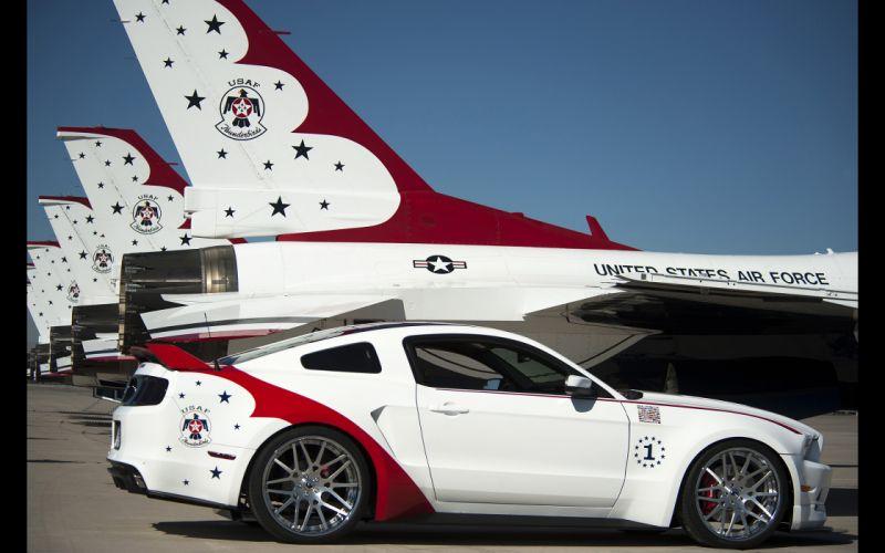 2014 Thunderbirds Ford Mustang GT muscle custom ds wallpaper