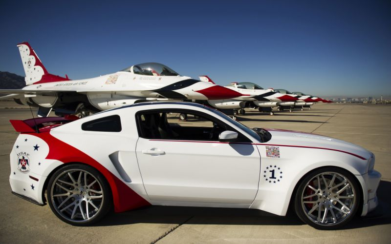 2014 Thunderbirds Ford Mustang GT muscle custom f wallpaper