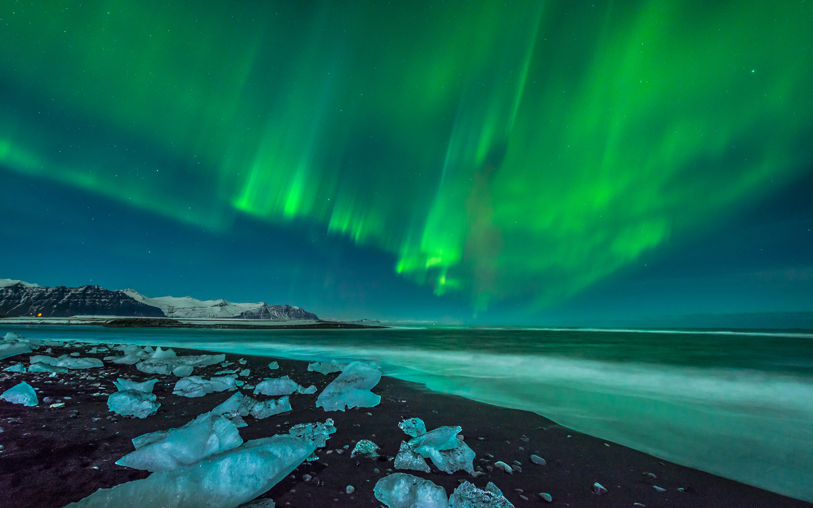 aurora borealis northern lights wallpaper | 1600x1000 | 112667