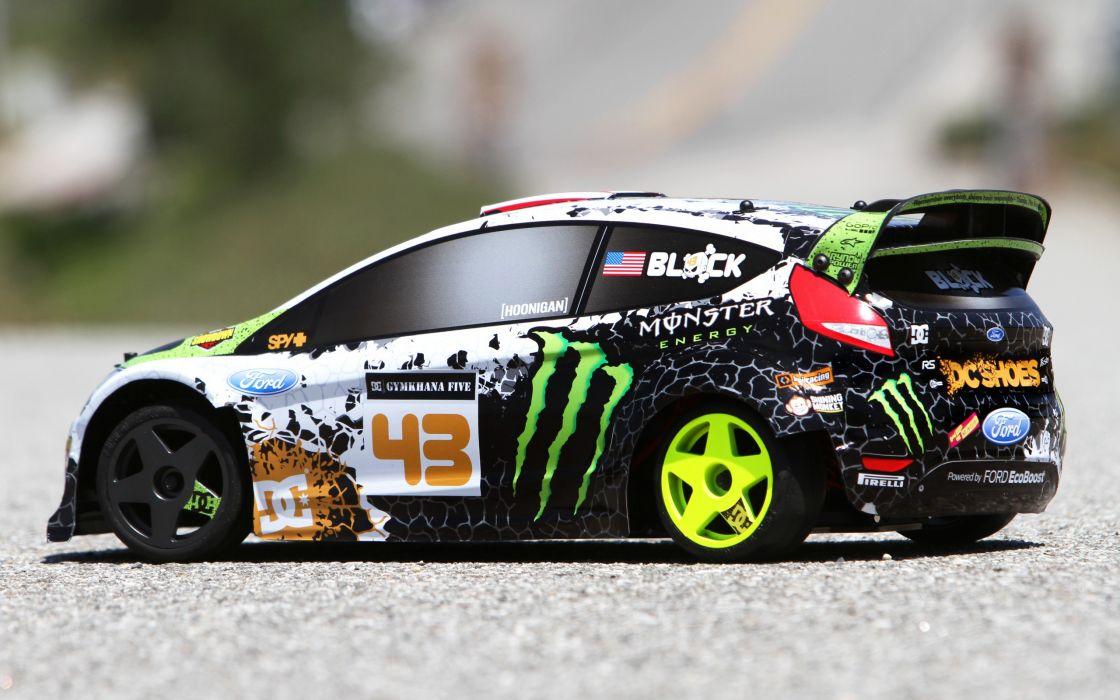 Ford Fiesta Car Ken Block drift race racing toy toys wallpaper