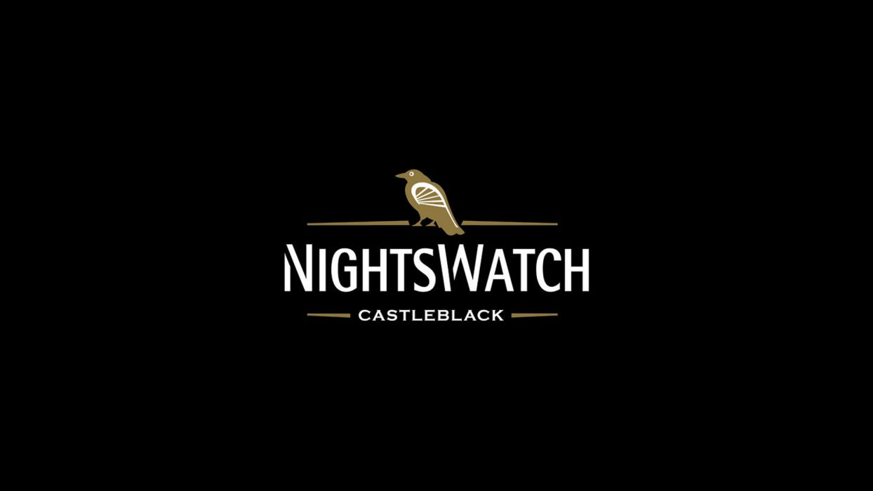 Game of Thrones Song of Ice and Fire Beer Alcohol Logo Night's Watch Black Guinness wallpaper