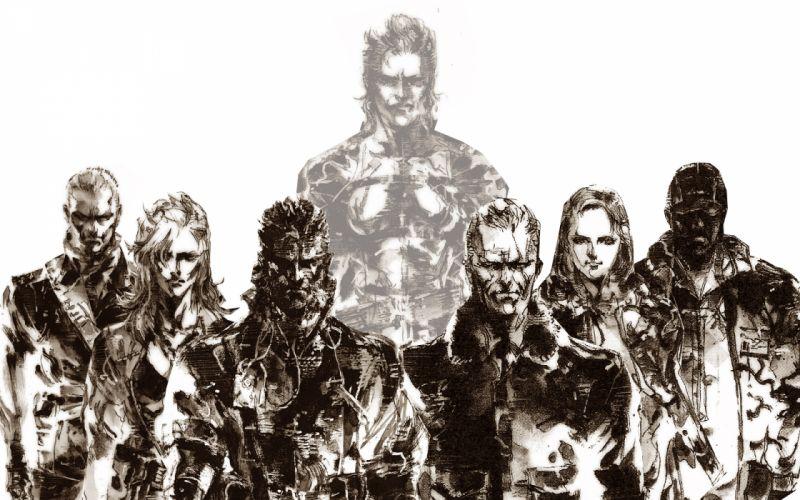 Metal Gear g wallpaper
