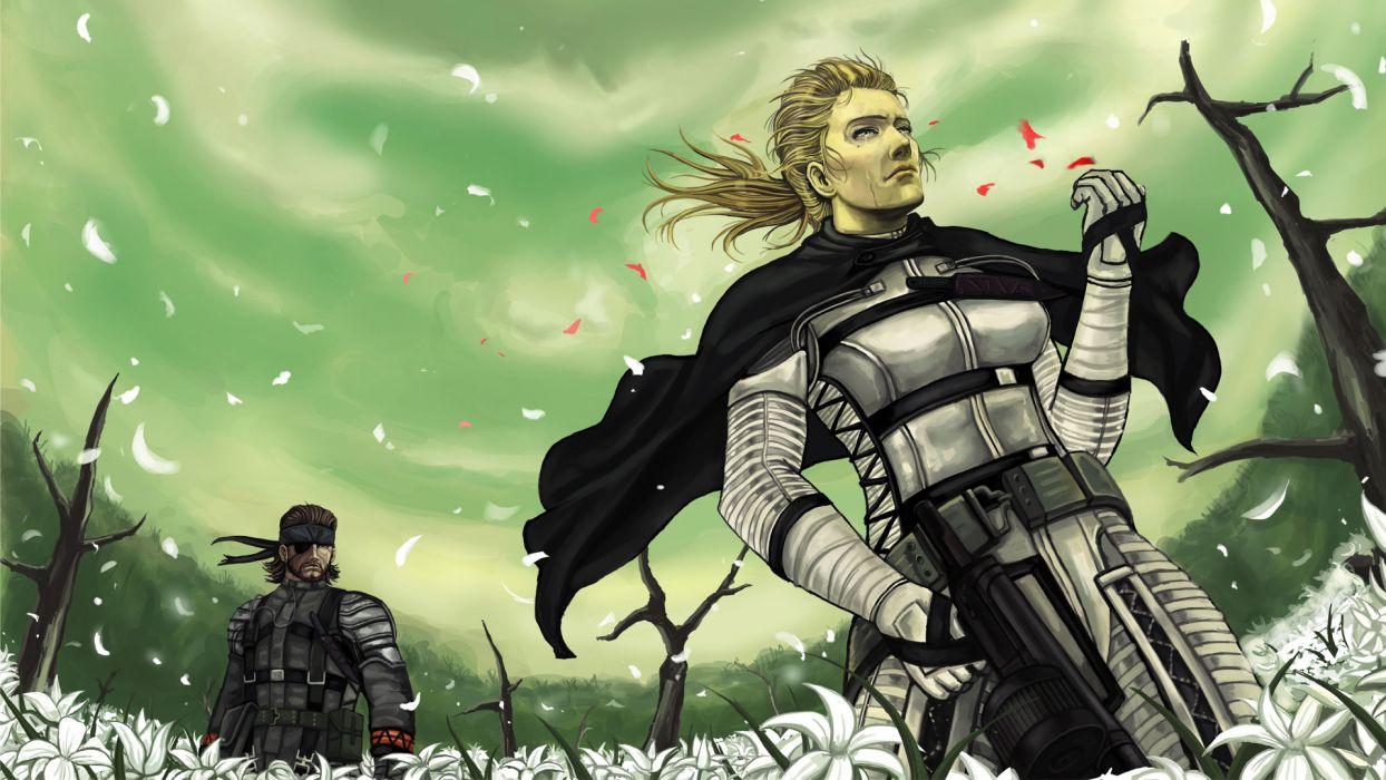 Metal Gear Solid   hr wallpaper