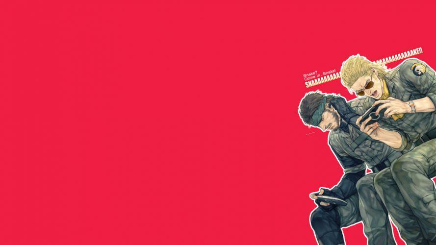 Metal Gear Solid t wallpaper