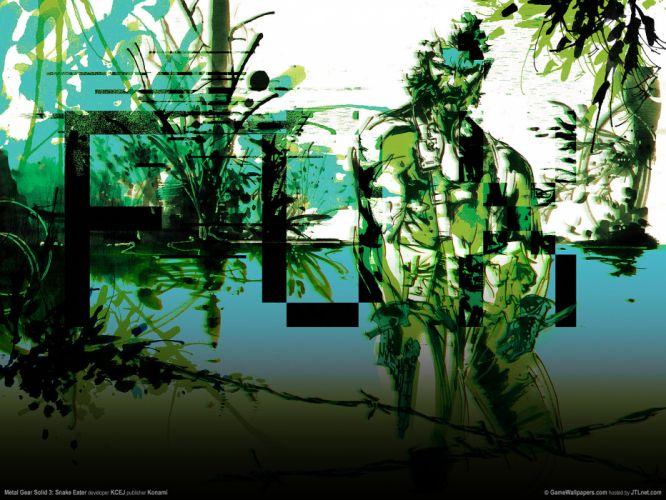 Metal Gear Solid gq wallpaper