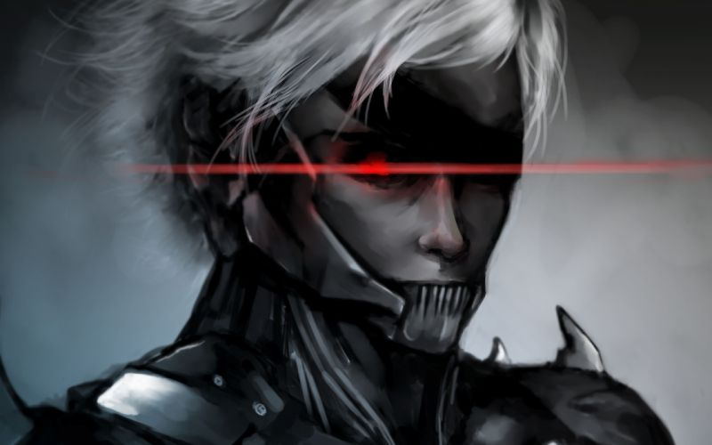Metal gear Solid raiden cyborg wallpaper