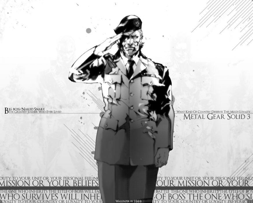 Metal Gear Solid 3 wallpaper