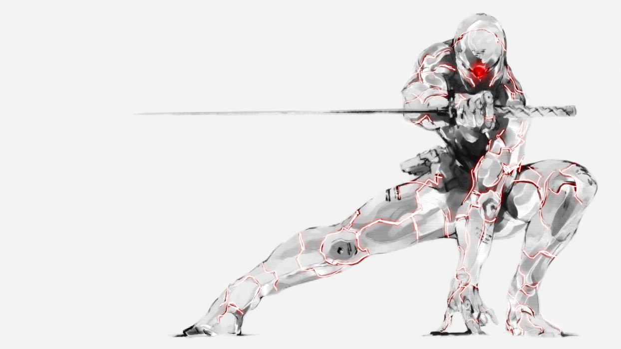 Metal Gear Solid cyborg            e wallpaper