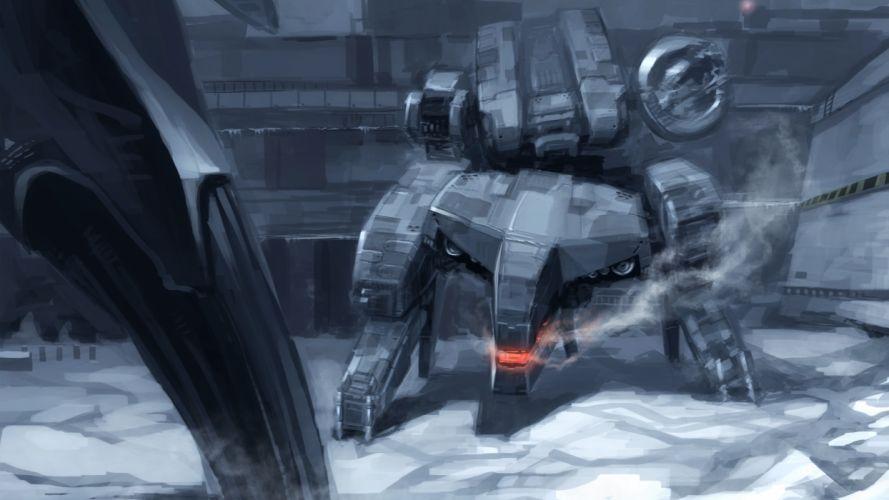 Metal Gear Solid mech mecha e wallpaper
