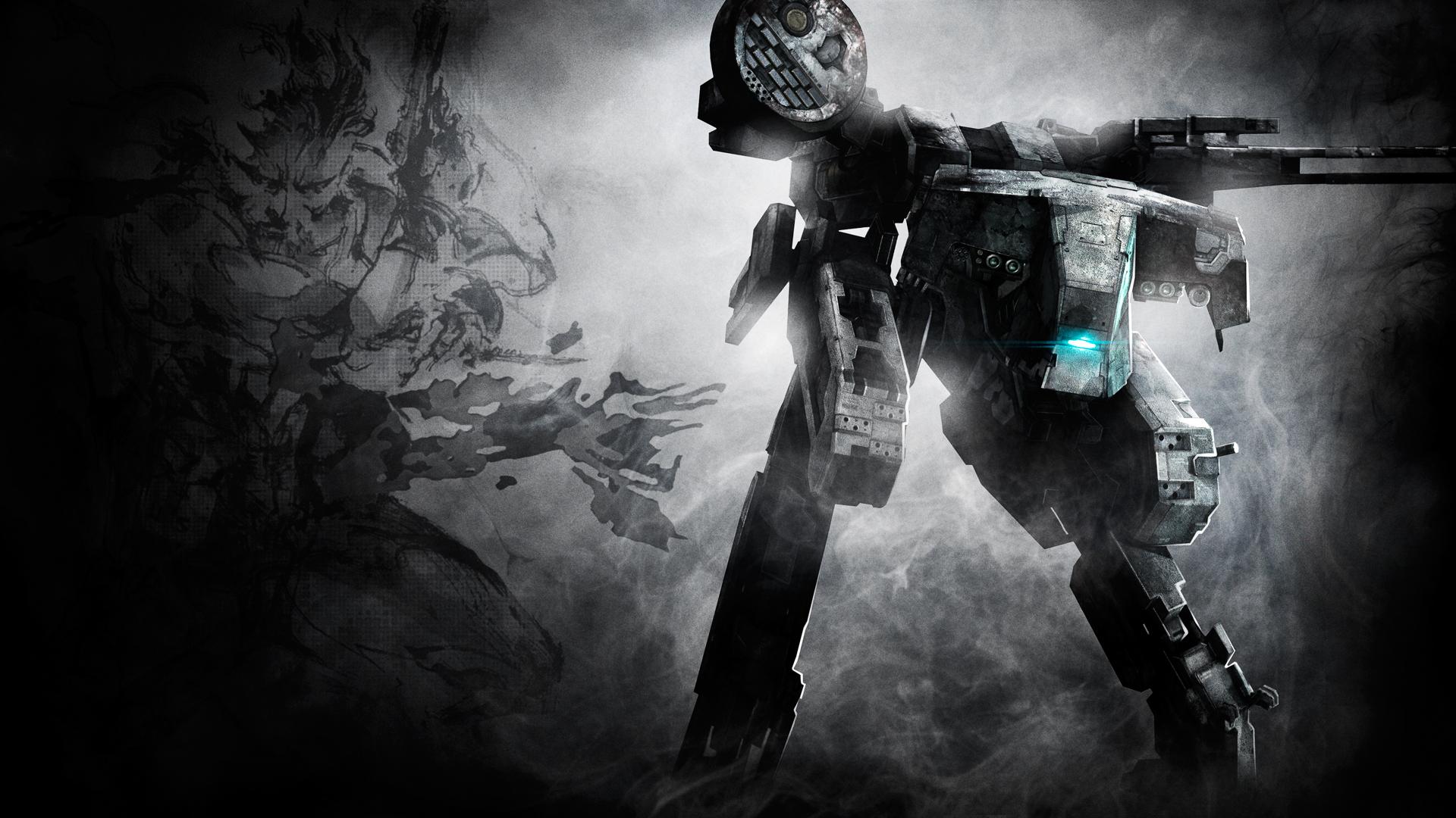 Metal Gear Solid 2 Wallpaper: Metal Gear Solid Mech Mecha Wallpaper