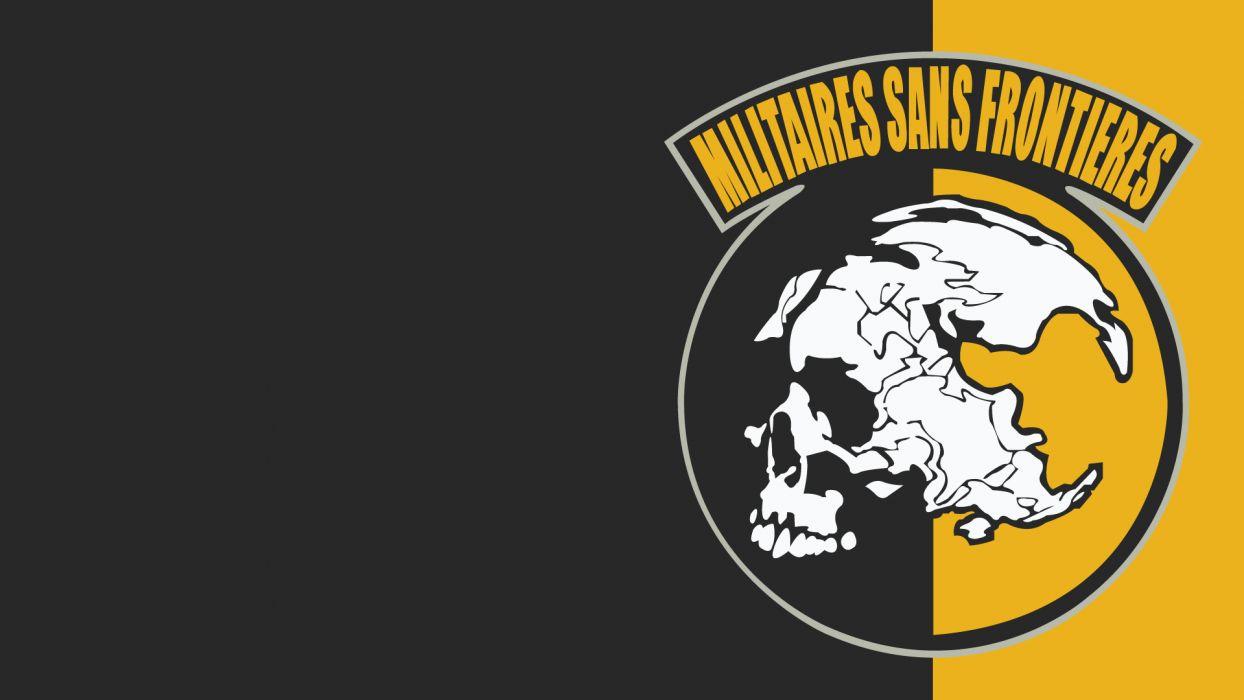 Metal Gear Solid skull skulls dark wallpaper