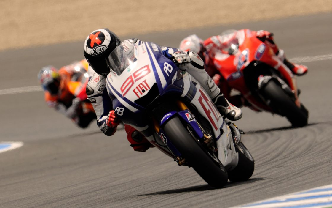 Motorcycle Yamaha MotoGP Racer Sports Road Speed Rotate Three Moto race racing wallpaper