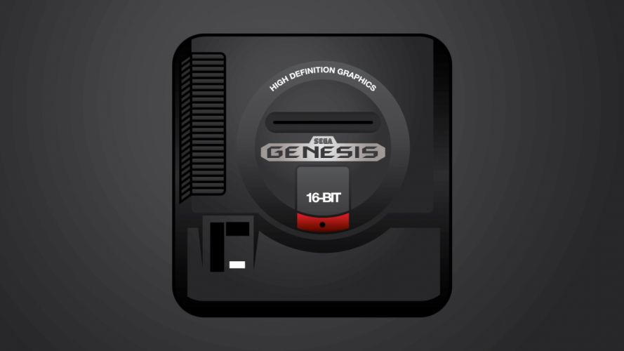 Sega Genesis Console wallpaper