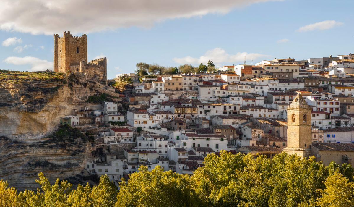 Spain Houses Castilla Albacete Cities wallpaper