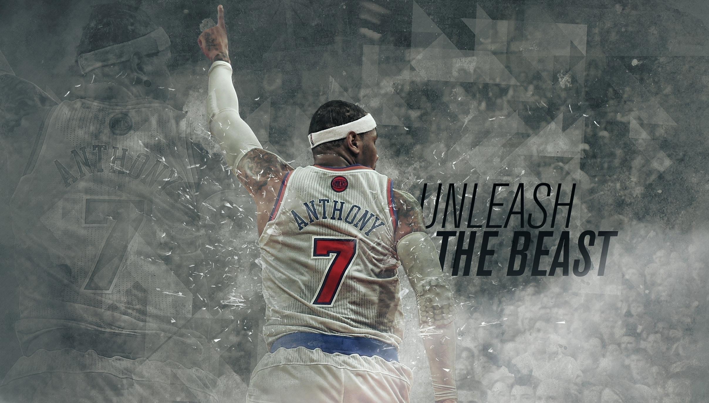 Sports Nba Carmelo Anthony New York Basketball 7 Knicks Wallpaper