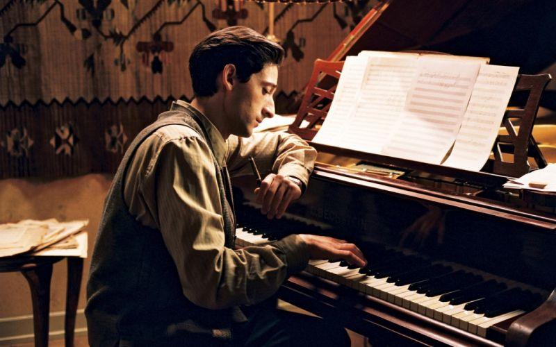 The Pianist Piano Adrien Brody wallpaper