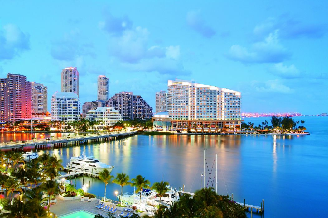 USA Coast Miami Cities wallpaper