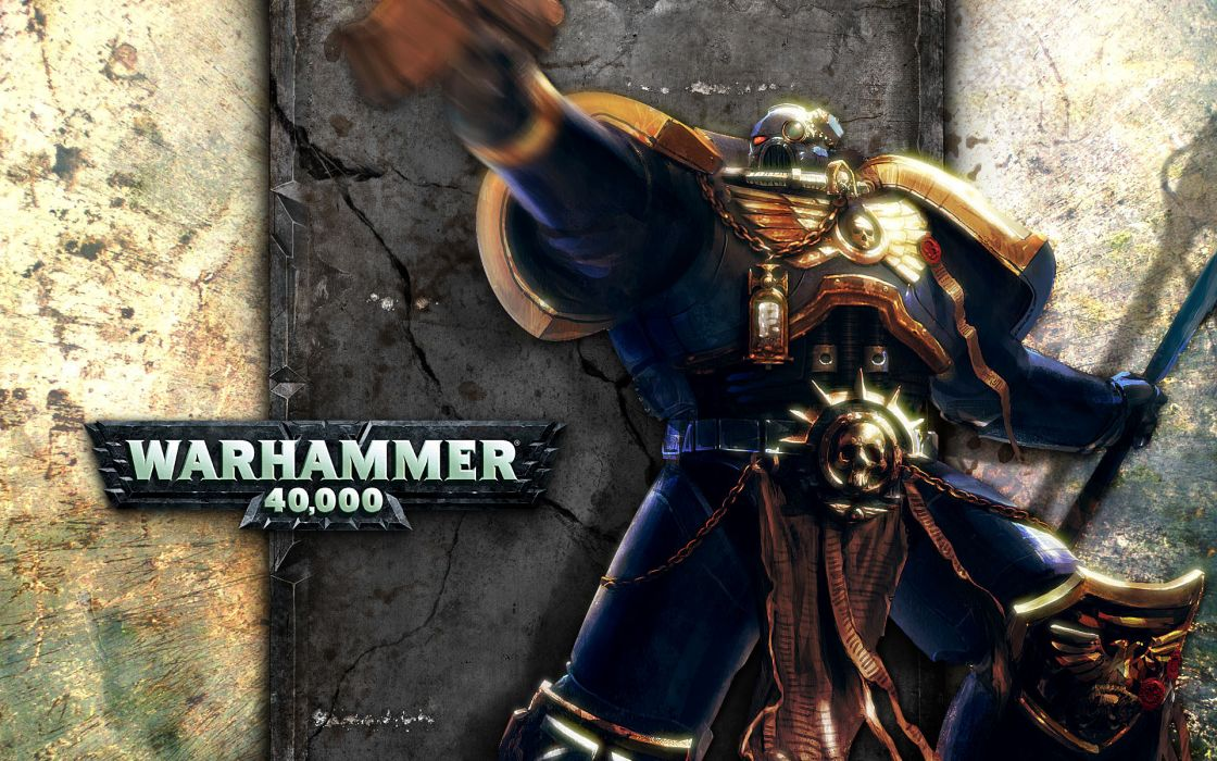 Warhammer 40k Ultramarines Space Marine wallpaper