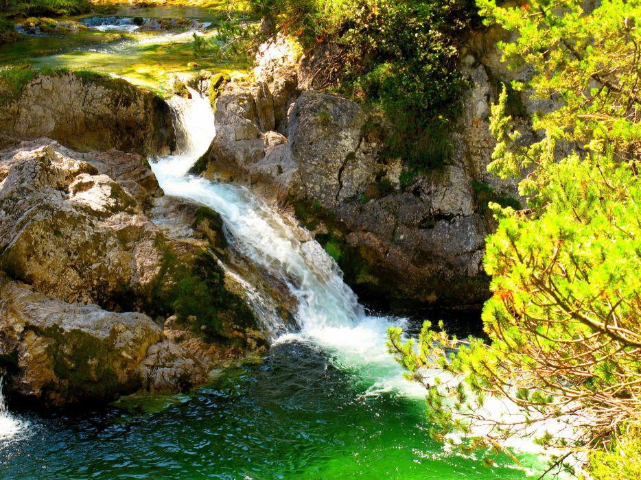 Waterfalls Australia Parks Great Otway Nature    f wallpaper
