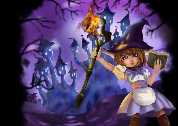league of legends animal annie hastur bear blonde hair fire kojima kuroko league of legends magician purple eyes wallpaper