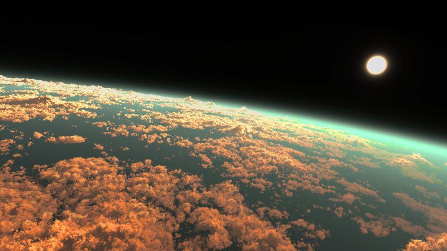 original 3d clouds dark original scenic sky y-k wallpaper