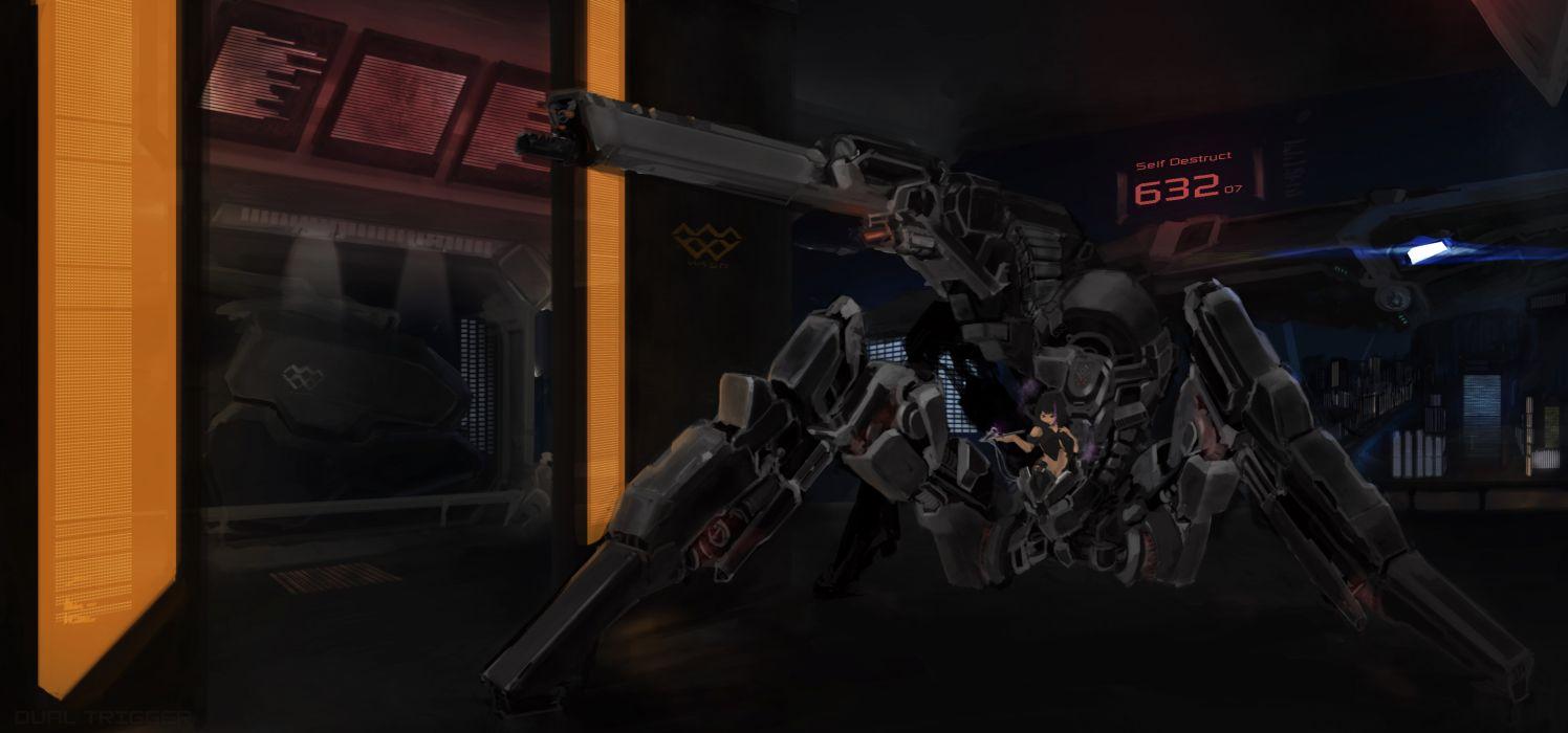 original mecha tagme weapon wallpaper
