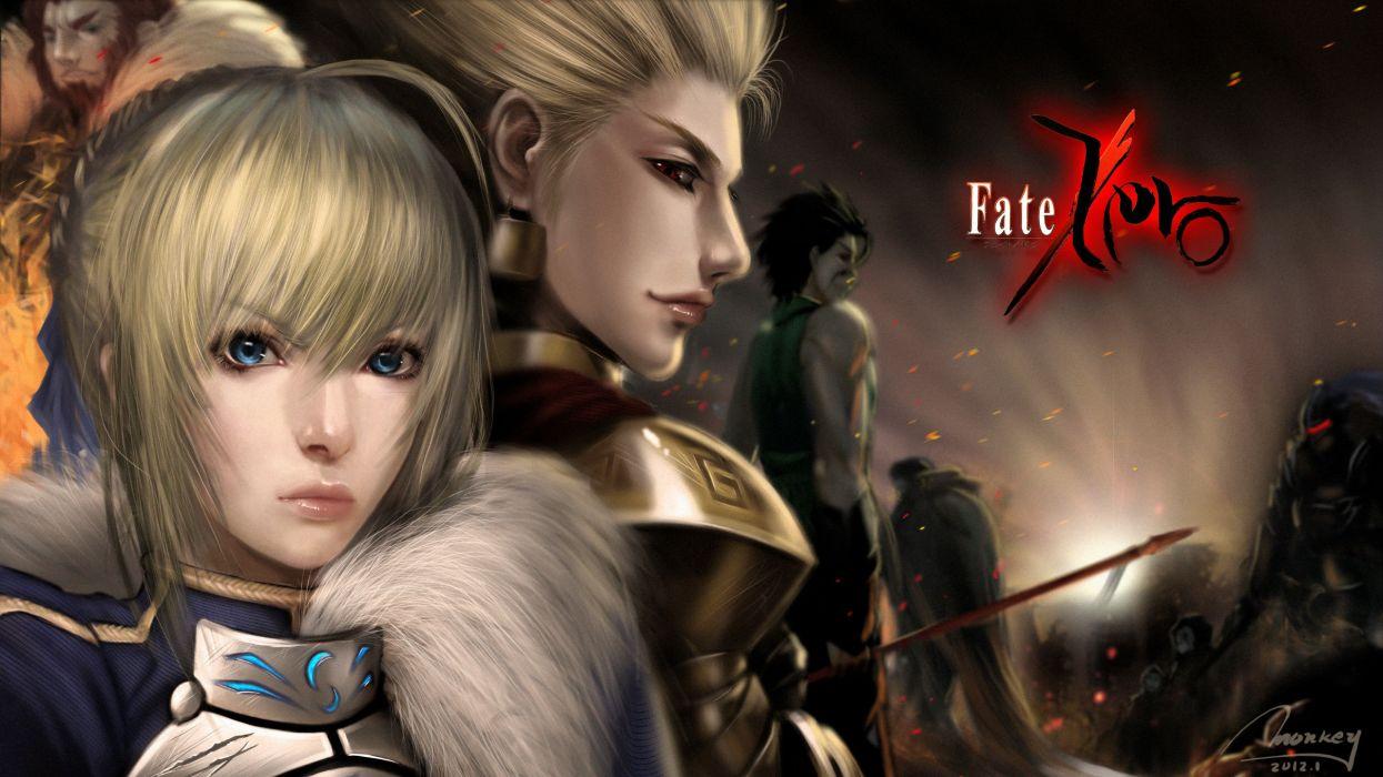 Fate Zero Saber Lancer Archer Rider Wallpaper 2418x1360 113243
