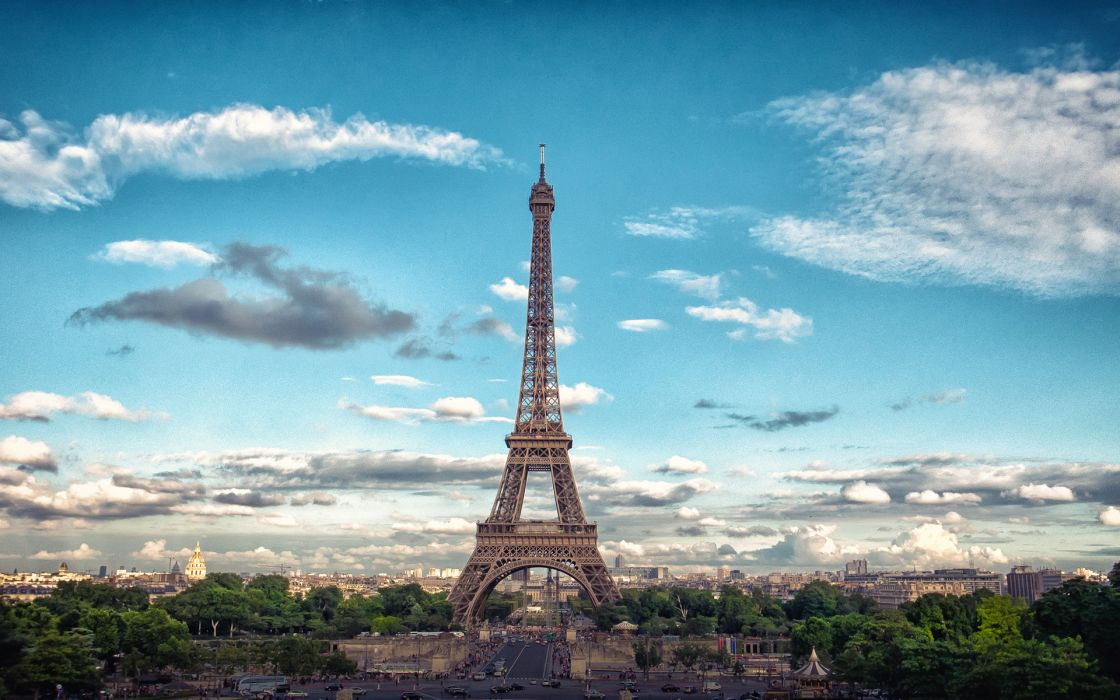 Eiffel Tower Paris Buildings wallpaper