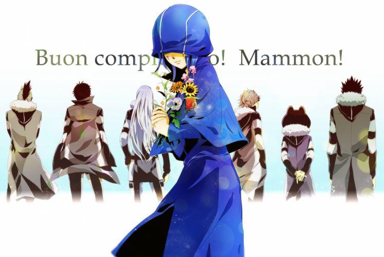 Katekyo Hitman REBORN! Mammon wallpaper