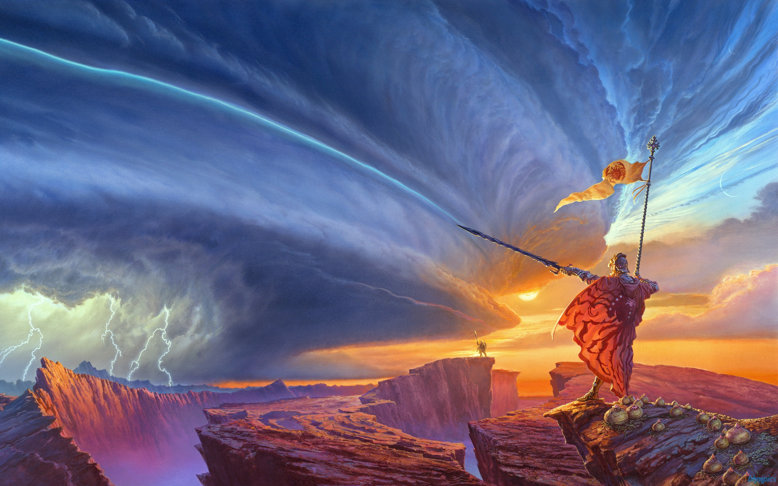 The Way Of Kings Storm Lightning Sword Drawing Fantasdy