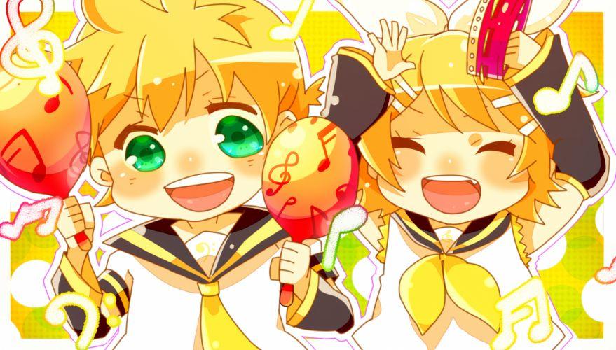 Vocaloid Kagamine Twins f wallpaper
