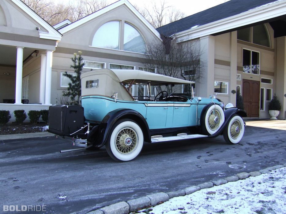 1929 Packard 640 Phaeton retro luxury     g wallpaper