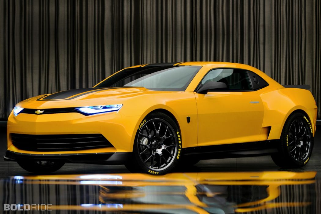 2014 Chevrolet Camaro Bumblebee Concept transformers muscle    g wallpaper