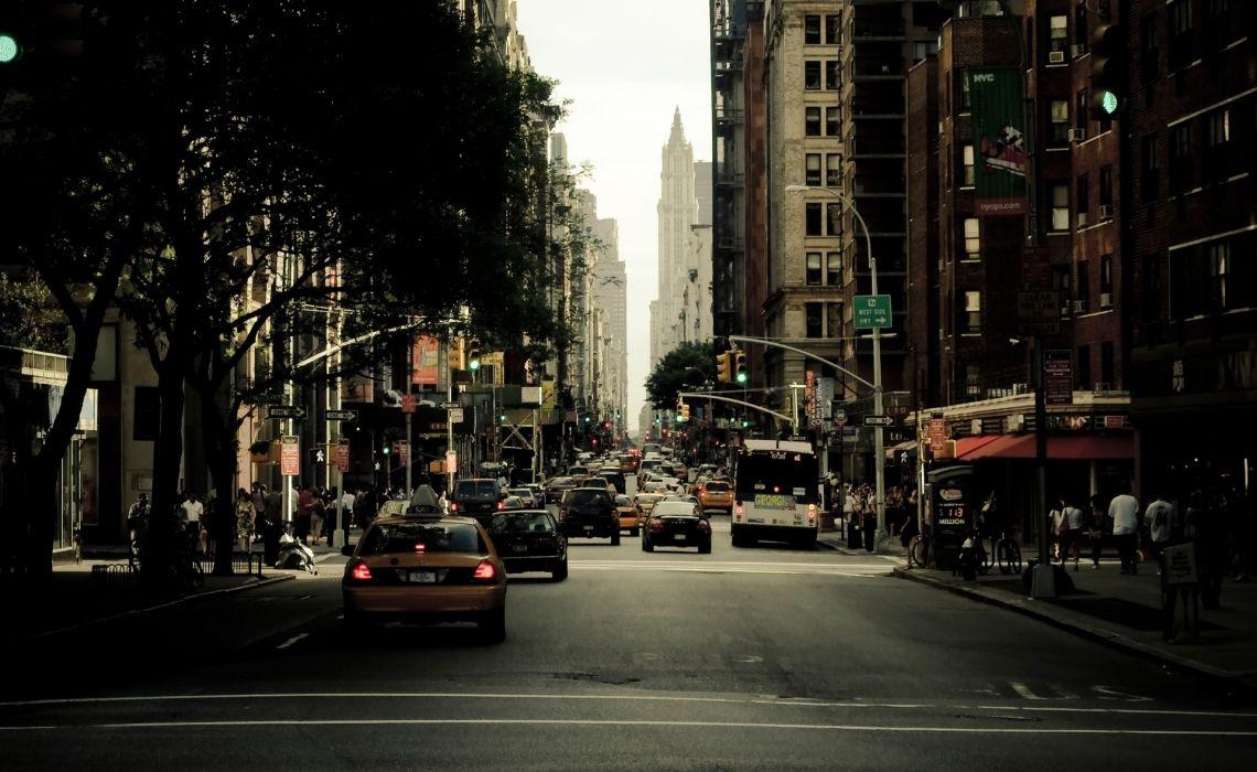 America Skyscrapers States New York City Wallpaper
