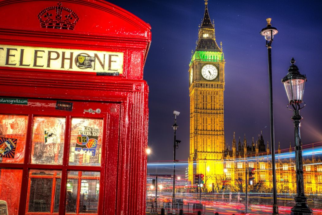 big ben telephone booth westminster palace lantern wallpaper