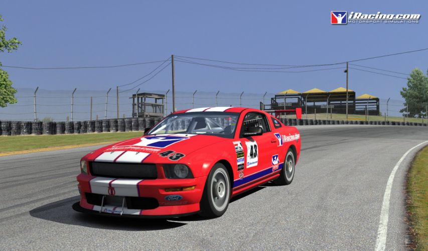 ford mustang muscle race racing game games wallpaper