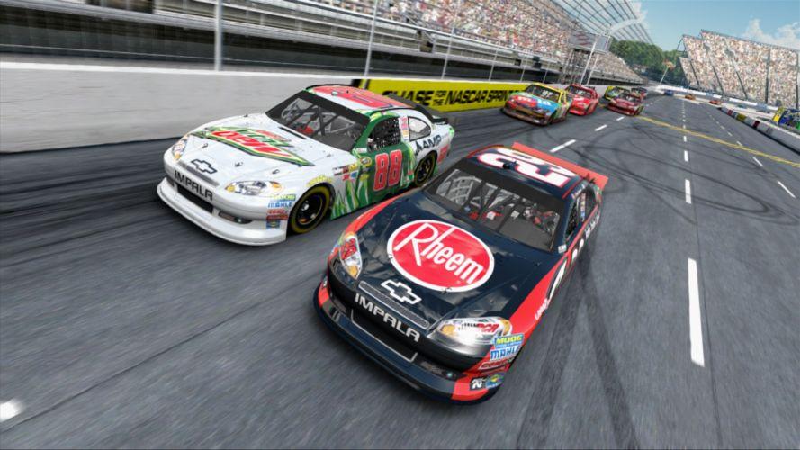 nascar racing race game games 2013 yw wallpaper
