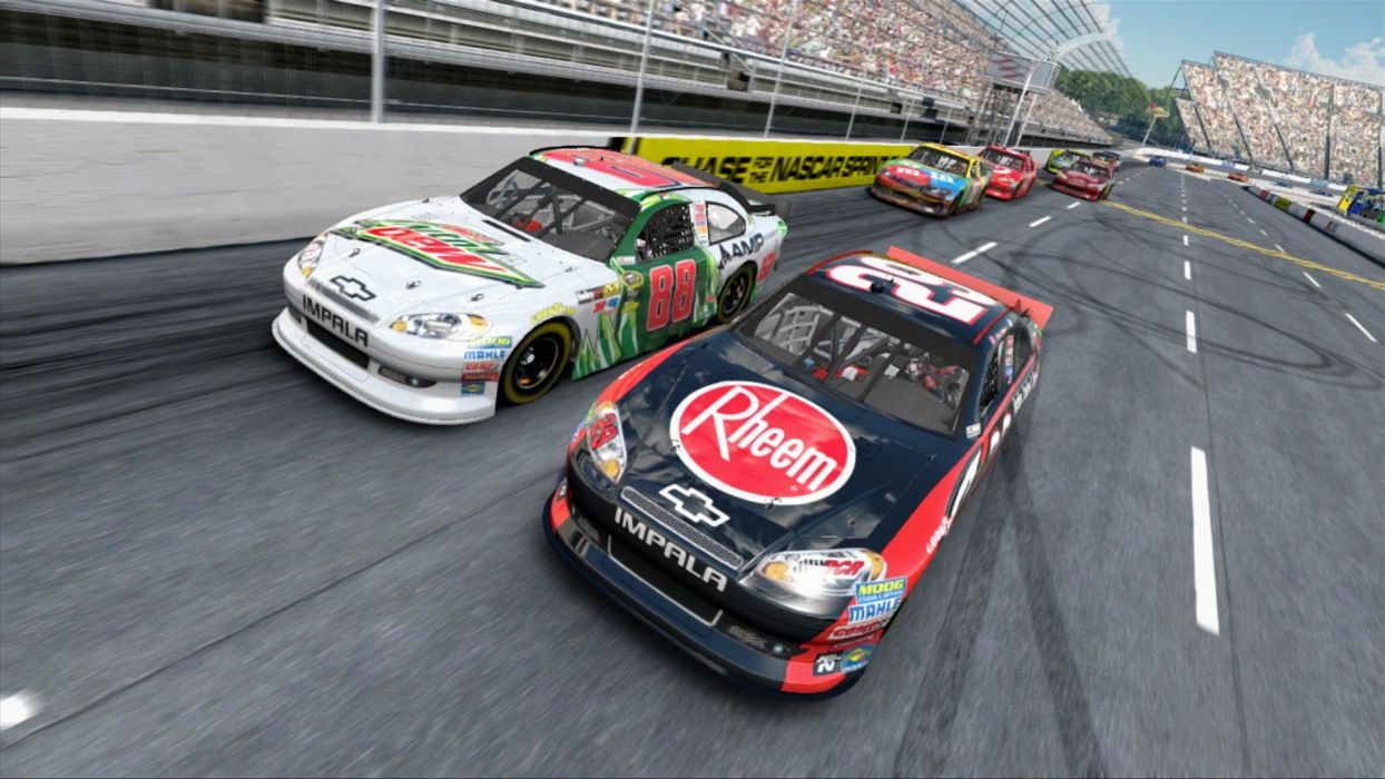 Nascar Racing Games >> Nascar Racing Race Game Games 2013 Yw Wallpaper 1920x1080 113456